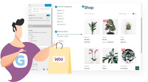 Perfect for launching a WooCommerce store