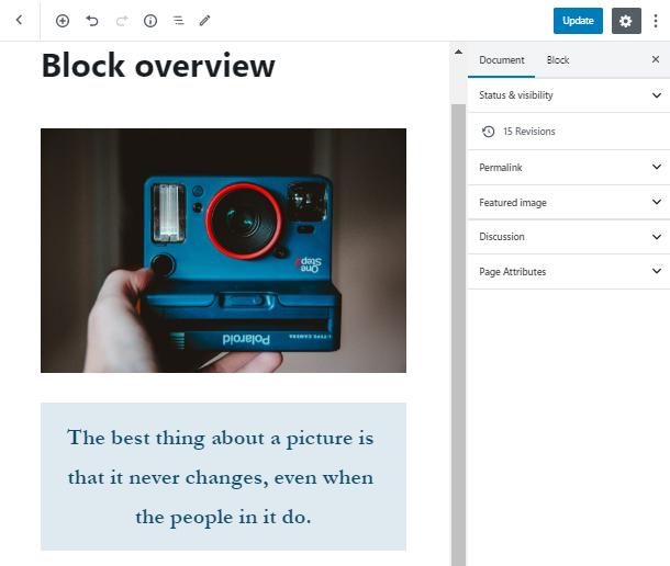 add a few blocks for Page break in WordPress