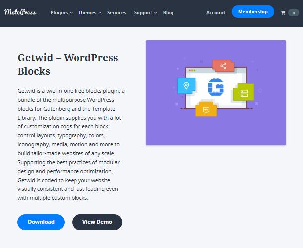 Getwid wordpress posts plugins
