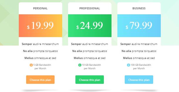 Go Pricing pricing table plugins wordpress