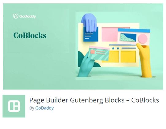 CoBlocks wordpress posts plugins