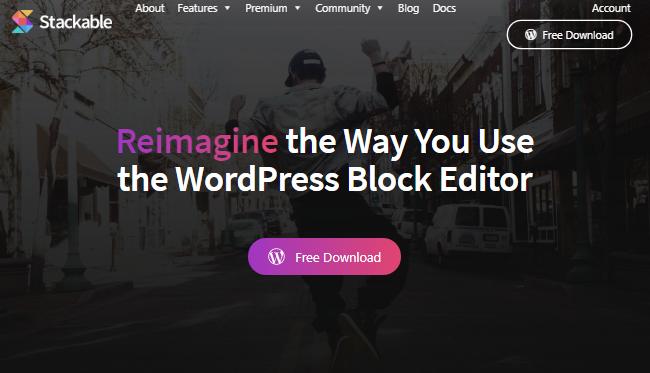 Stackable wordpress posts plugins