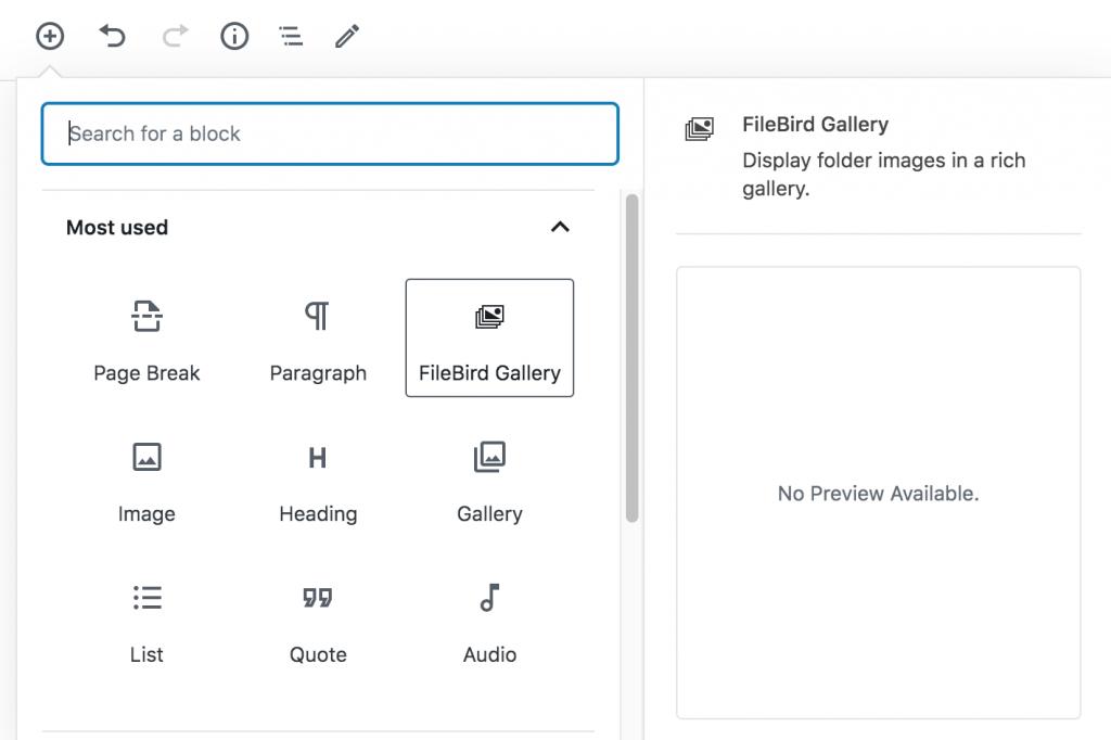 FileBird –  WordPress media library