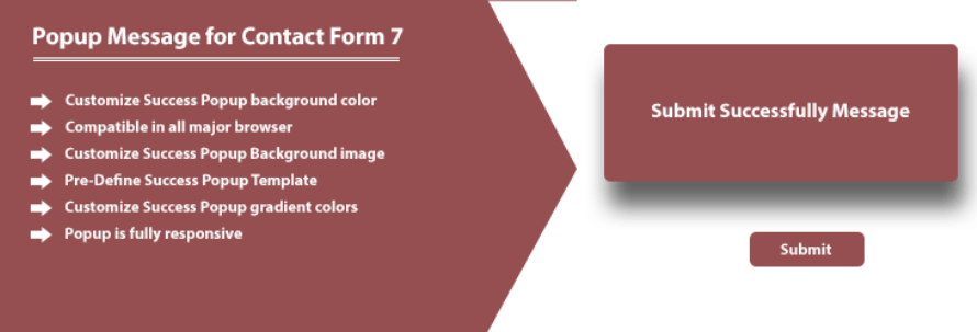 Contact Form 7 integration