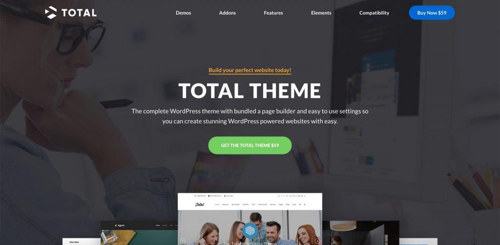 Total multipurpose WordPress theme