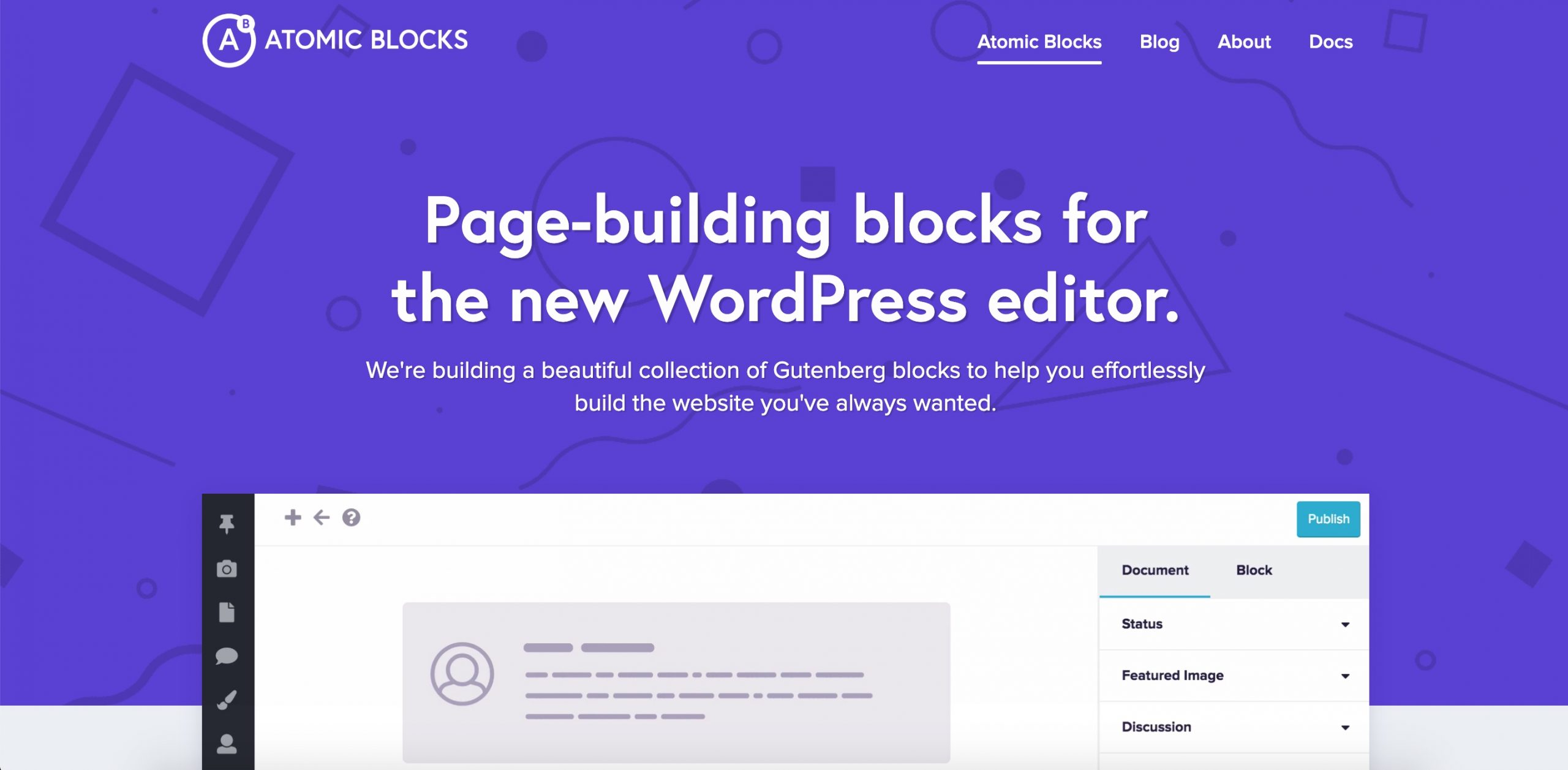 Atomic Gutenberg WordPress Blocks