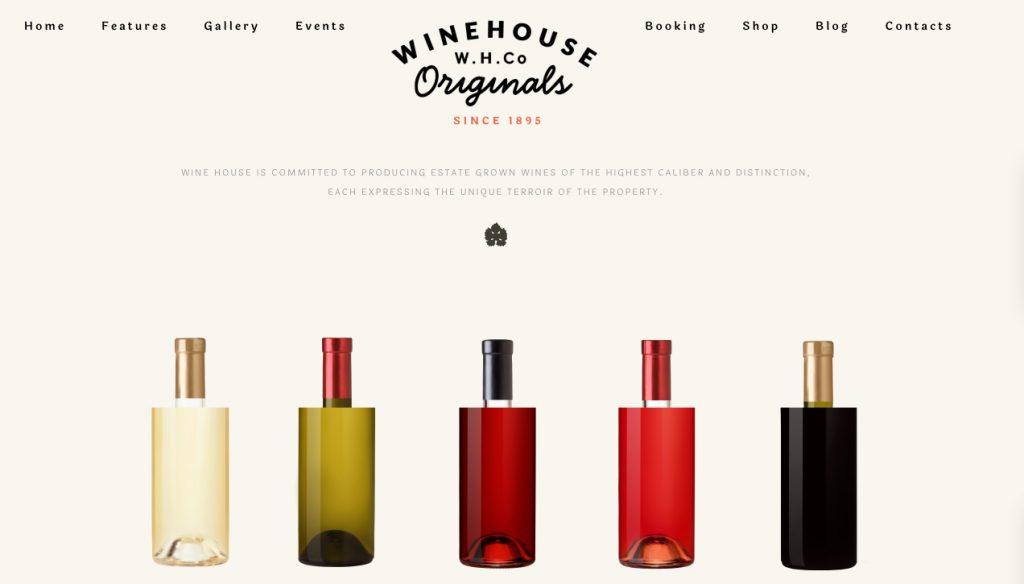 Vineyard & Liquor Store WordPress Theme