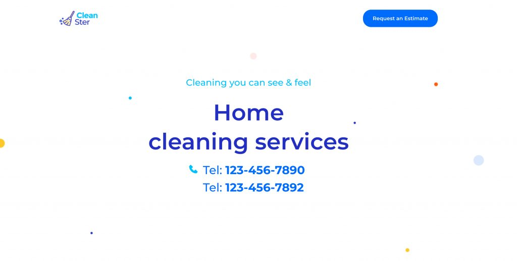 Home Cleaning Service Template