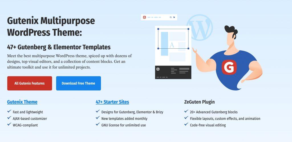 Gutenix Multipurpose WordPress Theme