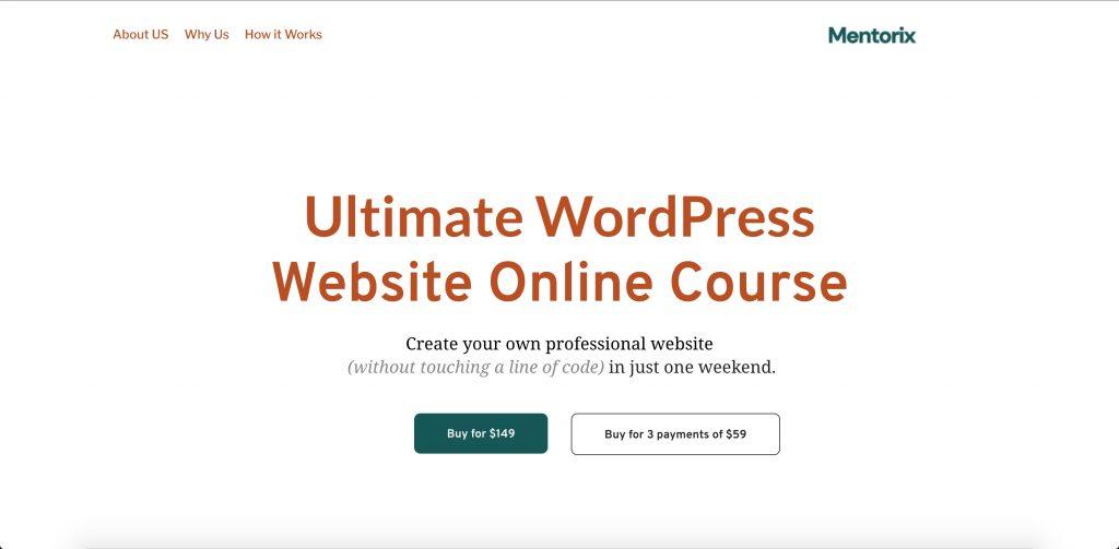 Online Education WordPress Template
